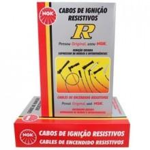 Jogo Cabos Vela NGK C10 Opala Veraneio Caravan 2.5 Todos SCG63